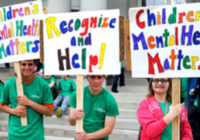 Children's Mental Health Awareness Day participants
