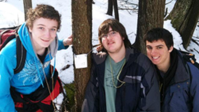 Enjoying RSEC Intensives Week Snow Activities