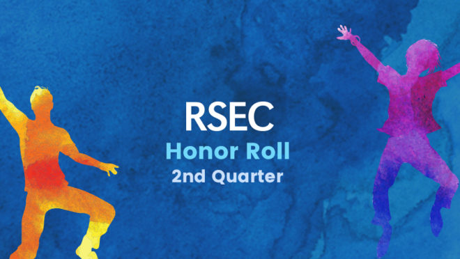 2018-2019 Second Quarter Honor Roll