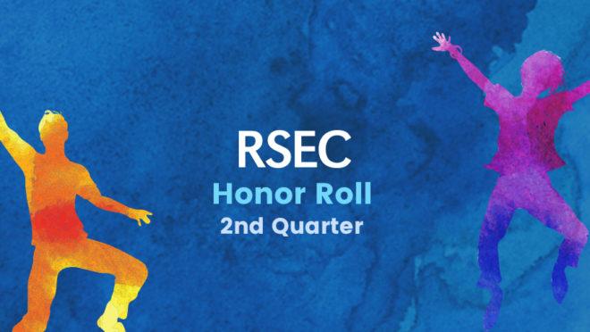 2018-2019 Second Quarter Honor Roll