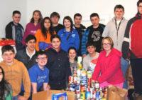 Students help Open Cupboard Food Pantry in Wilton